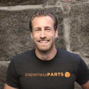 Jason T. Ray, CEO of Paperless Parts