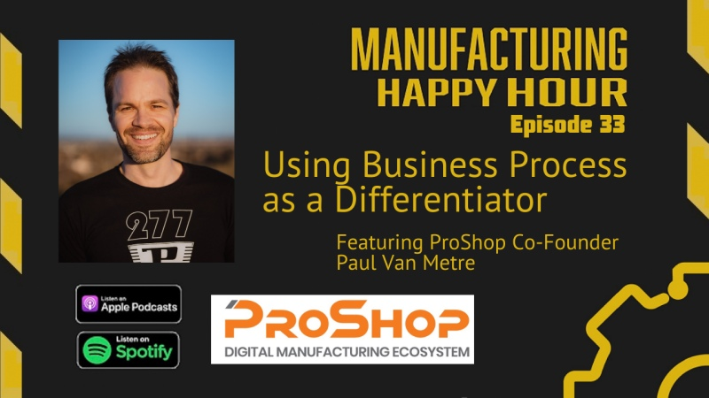 Paul Van Metre on Manufacturing Happy Hour