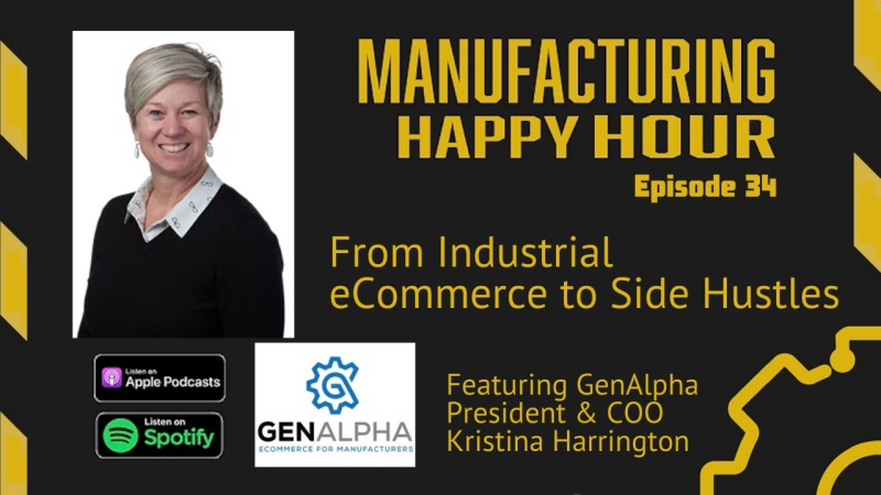 Kristina Harrington on Manufacturing Happy Hour