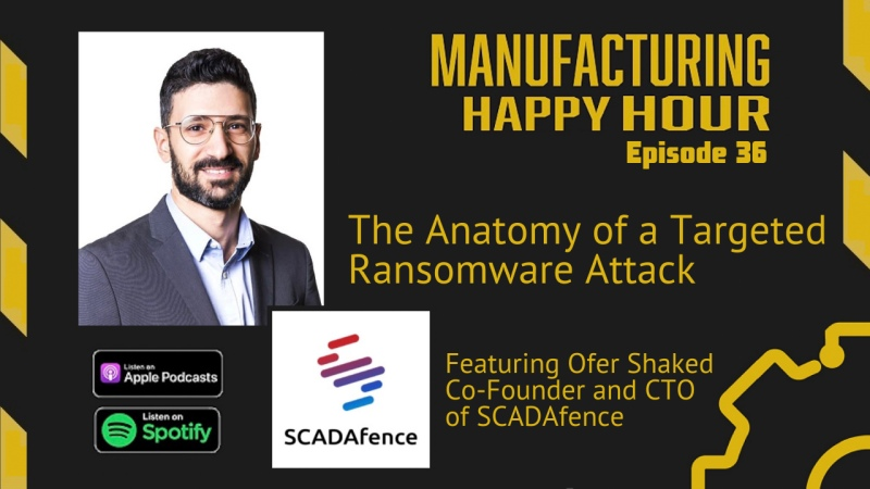 Ofer Shaked on Manufacturing Happy Hour