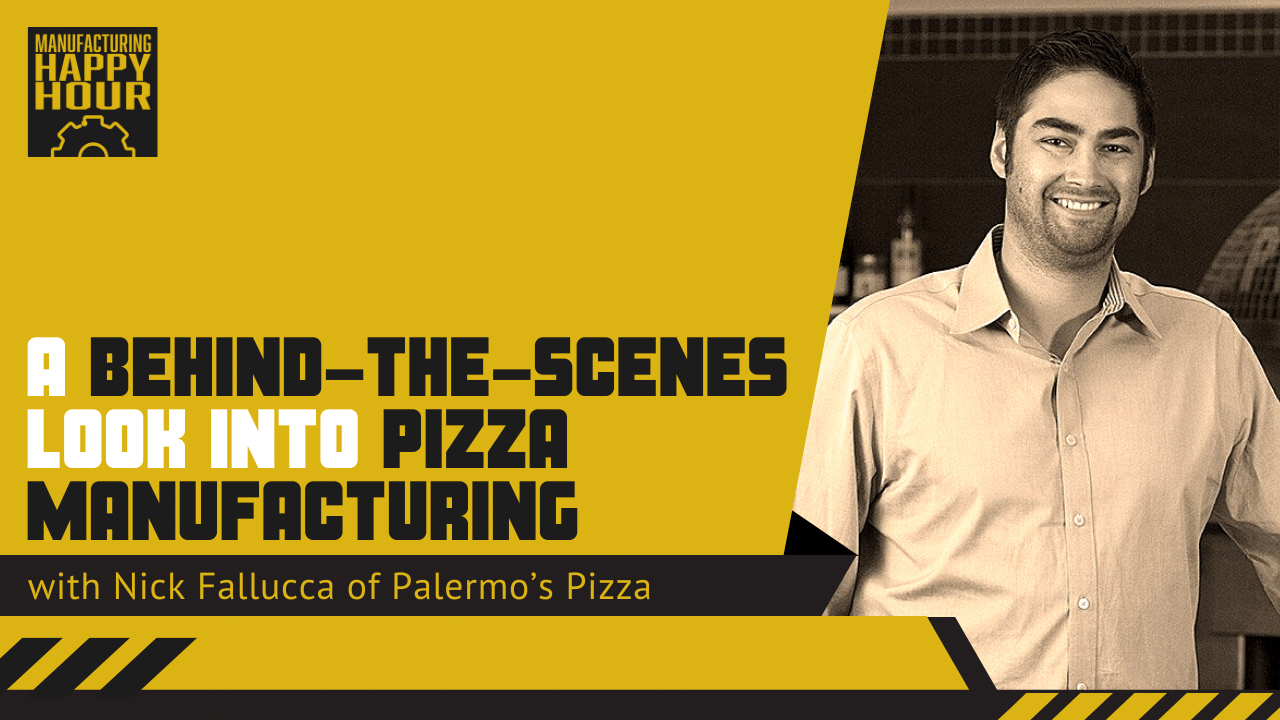 A Behind-the-Scenes Look into Pizza Manufacturing with with Nick Fallucca of Palermo's Pizza